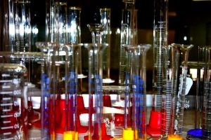 Graduated Cylinders in multiple colors