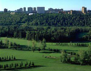 Municipal Golf course in Edmonton, Alberta