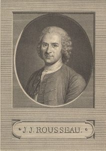 Portrait of Jean-Jacques Rousseau