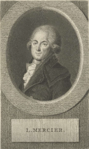 Portrait of Louis-Sébastian Mercier