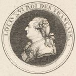 Print of a Portrait Medal of Louis XVI