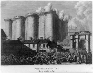 Prise de la Bastille, le 14 Juillet 1789 / Prieur inv. & del. ; Berthault sculp.