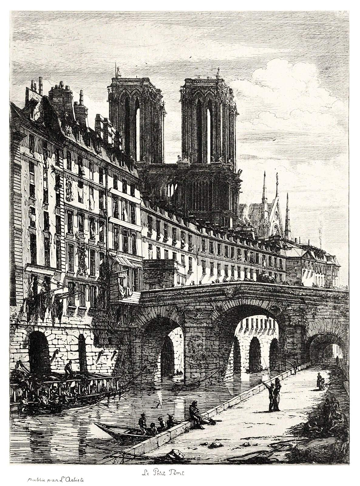 Cover image for Paris à travers les pages